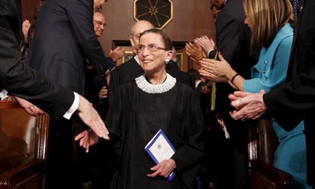 Ruth Bader Ginsburg SOTU
