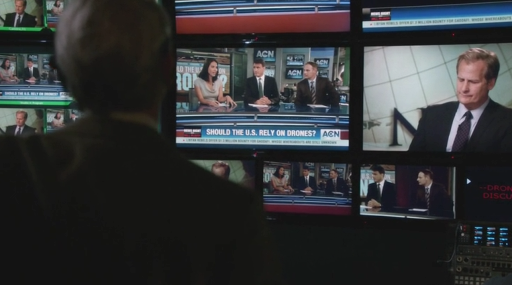 The Season 2 premiere of The Newsroom aired last night.
